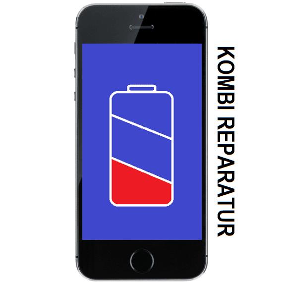 iPhone 5S Li-Ionen Batterie Akku Kombination Reparatur Austausch