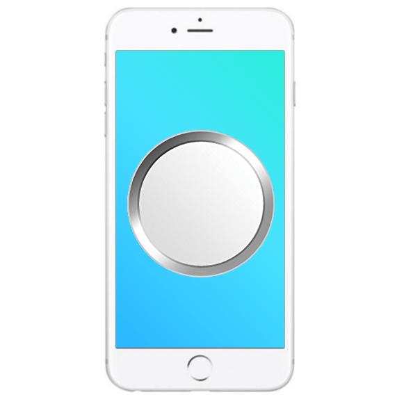 iphone 6s home button reparatur austausch weiss silber ip klinik deluecks. Black Bedroom Furniture Sets. Home Design Ideas