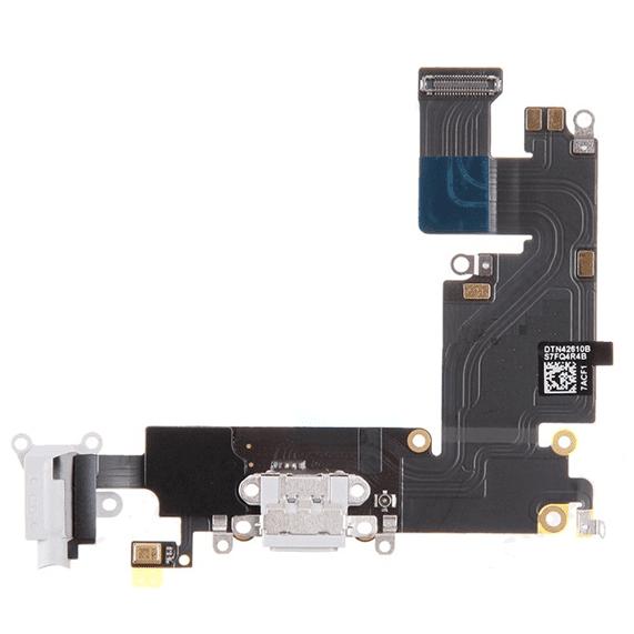 iPhone 6S Plus IP Klinik DeLueckS Ersatz Audio Flex Lightning Dock Connector Weiss