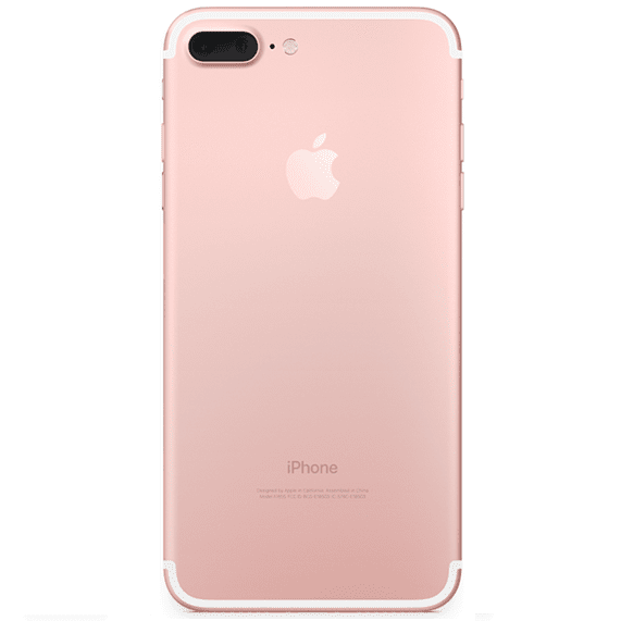 iPhone 7 Plus Backcover Rückseite Rahmen Reparatur Austausch Rosa