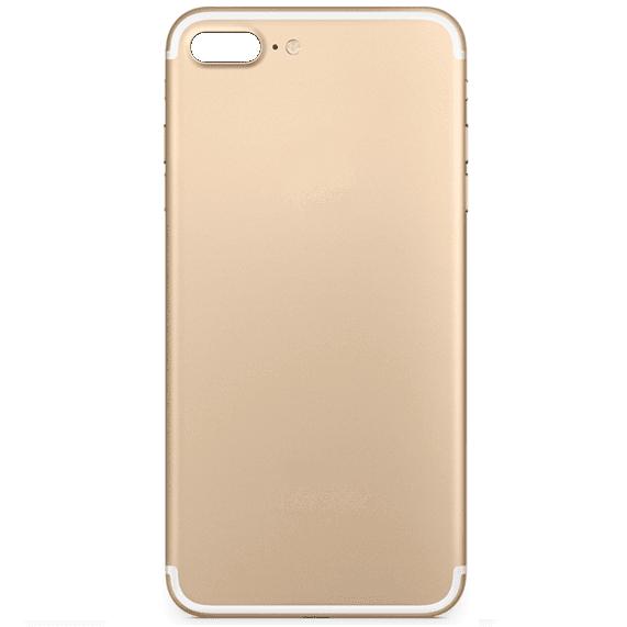iPhone 7 Plus Ersatz Backcover Rrückseite Rahmen Gold
