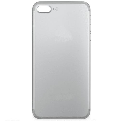 iPhone 7 Plus Ersatz Backcover Rrückseite Rahmen Silber 02