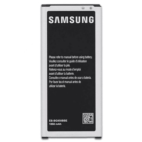 Samsung Galaxy Alpha IP Klinik DeLueckS Ersatz Akku Batterie 1860mAh