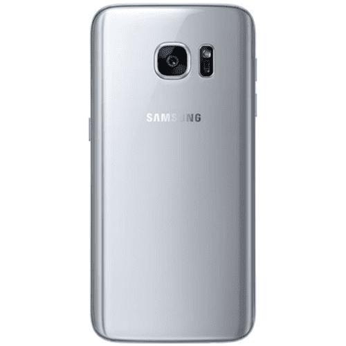 Samsung Galaxy S7 IP Klinik DeLueckS Backcover Rückseite Reparatur Austausch Silber
