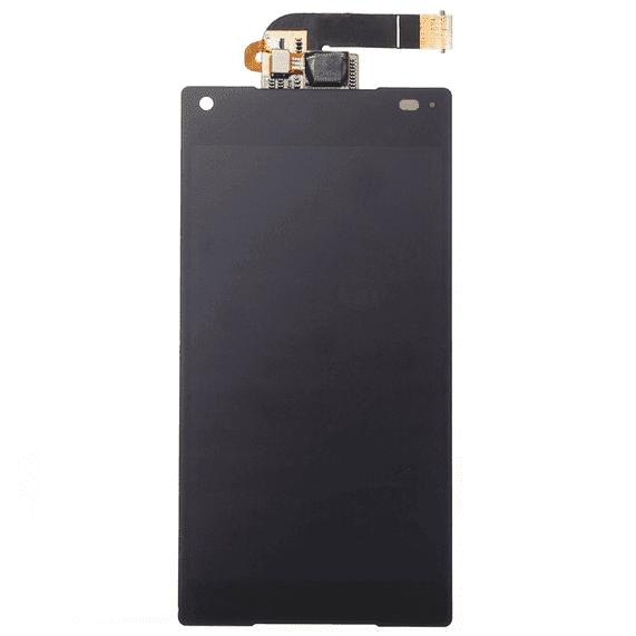 Xperia Z5 Compact IP Kliniki DeLueckS Ersatz LCD Display & Touch Screen Digitizer Schwarz