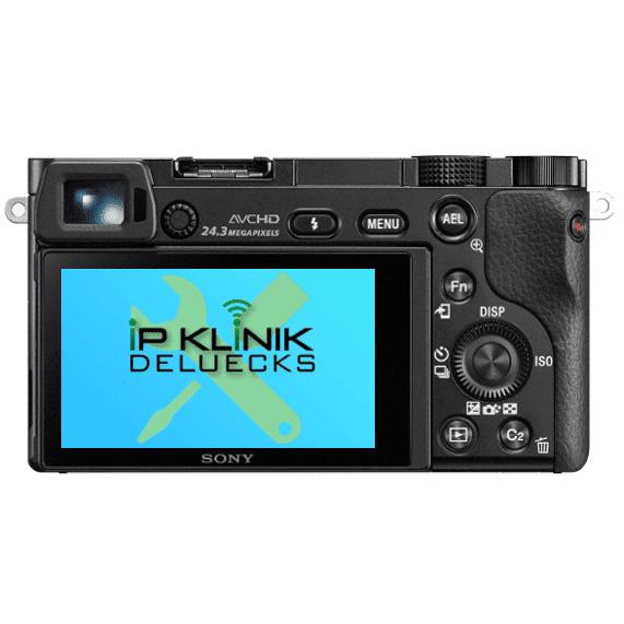 Sony Kamera a6000 Reparatur